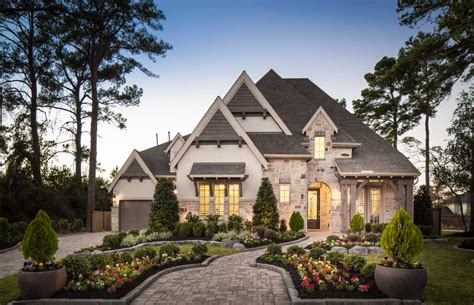 Model Home In Houston Texas, Valencia On Spring Cypress