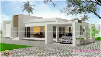 single level home plans contemporary single storied luxury home kerala home design and floor plans