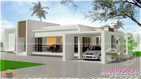 Home Design 1 Floor : Contemporary Single Storied Luxury Home Kerala Design