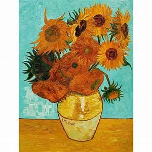 Van Gogh Sunflowers - Wee Blue Coo