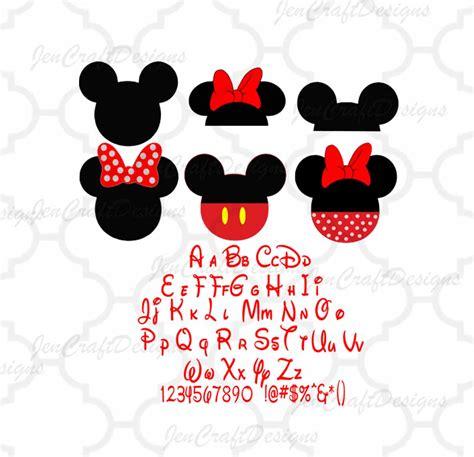 Triester svg brush font free sans. Disney Font SVG Bundle pack Alphabet and by JenCraftDesigns