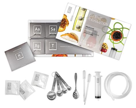 cuisine r evolution molecular gastronomy kit the green
