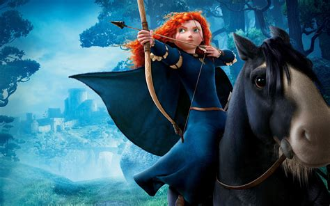 Animated Princess Wallpapers - princess merida hd 4k wallpapers images
