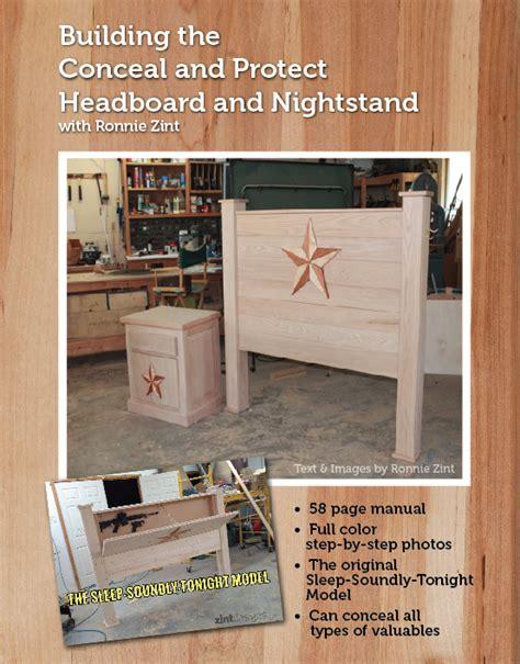 custom furniture  hidden compartments zint designs