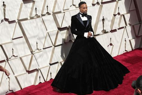 Billy Porter Wows Oscars Red Carpet Christian Siriano