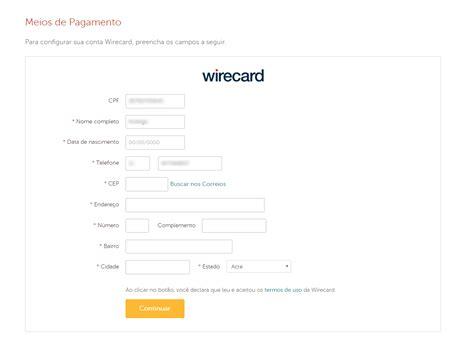 Como Habilitar A Wirecard Em Minha Loja?