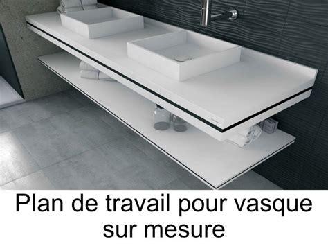 cuisine sur mesure surface plan de travail profondeur 90 meuble with plan de travail