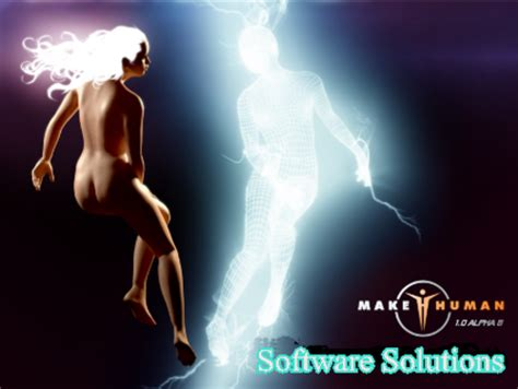 Makehuman  3d Computer Graphics Software + Bonus Software