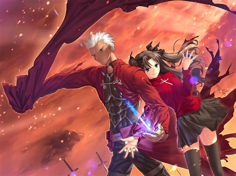 next fate anime series fate stay unlimited blade works wallpaper and