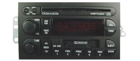 oldsmobile radio buttonknob  style