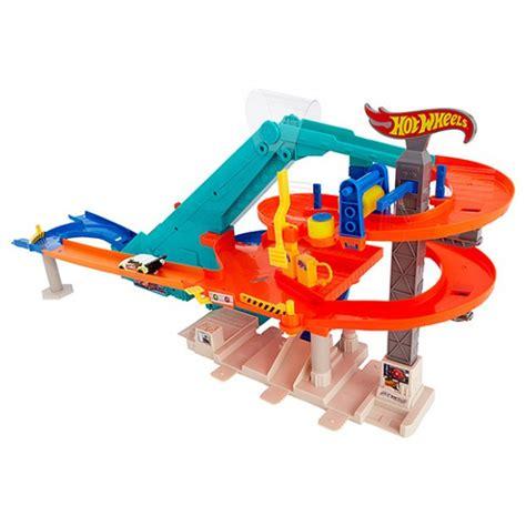 wheels mega garage mattel wheels motorized mega garage toyzzmania