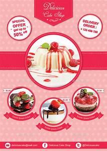 Cake Flyer Template By Avindaputri