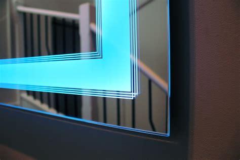 deco bathroom lighted mirror clearlight designs