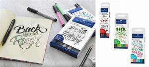 new trend hand lettering amex stationery With faber castell hand lettering kit