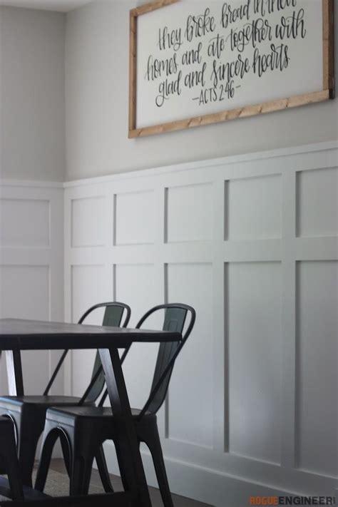 board  batten wall living room diy plans dining
