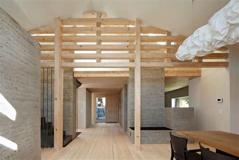 Stall Umbauen Wohnhaus by Stall Plazza Pintgia Lehm Ton Erde Martin Rauch Vorarlberg