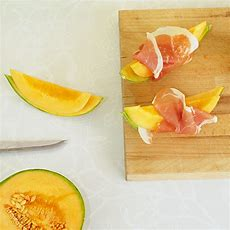 Melone Mit Schinken Rezept Küchengötter