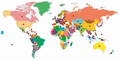 Map Non Countries Deco Country Albania