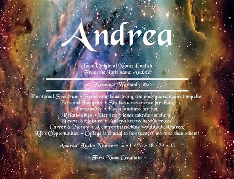 andrea  meaning   creations names  meaning names kyle