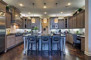 hanging pendant lights kitchen island toll brothers plano tx model contemporary kitchen