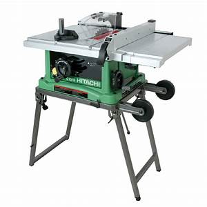 "Shop Hitachi 15-Amp 10"" Table Saw at Lowes com"