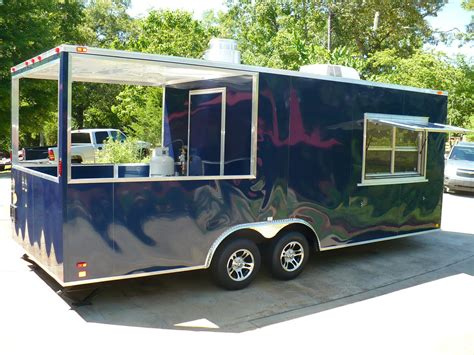 bbq trailer with porch bbq porch concession trailer new
