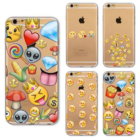 iphone 6 emoji new emoji for iphone 6 6s ultra thin clear tpu
