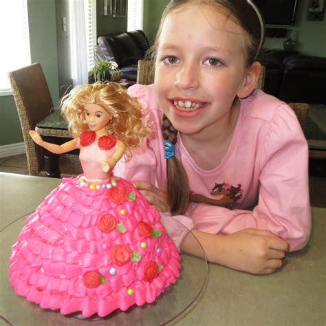 barbie cake simplified