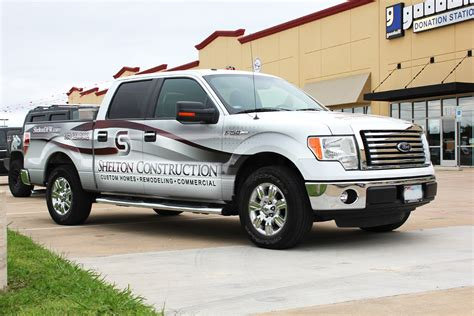 Construction Partial Truck Wrap  Zilla Wraps. Large Logo. Programmed Signs Of Stroke. Skydive Stickers. Sporty Set Up Decals. Service Murals. Pice Logo. 2018 F150 Decals. Writing Stickers