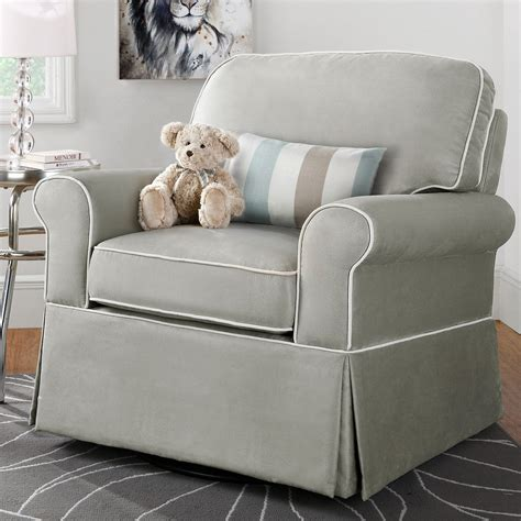 dorel upholstered swivel glider gliders nursery
