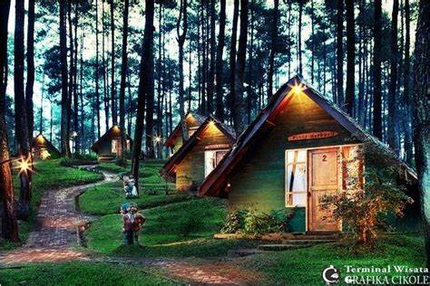 tempat wisata  bandung lembang  kaki gunung
