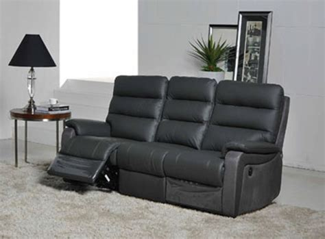 canapé relax discount canape 3 places relax electrique ethan anthr 9811 luba
