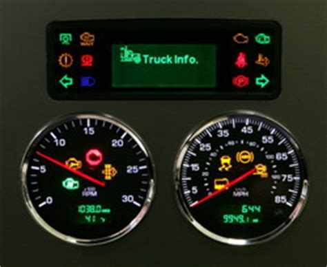 Kenworth Dash Warning Lights by Improved Kw Dashboards Today S Truckingtoday S Trucking