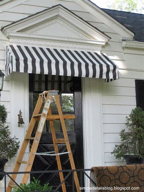 simple details diy awning tutorial furniture design pinterest cloths tutorials