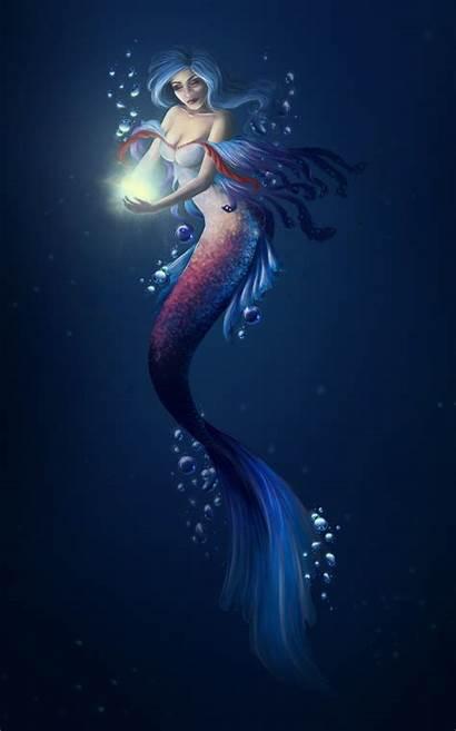 Mermaid Mermaids Artstation Deviantart Tails Drawings Fantasy