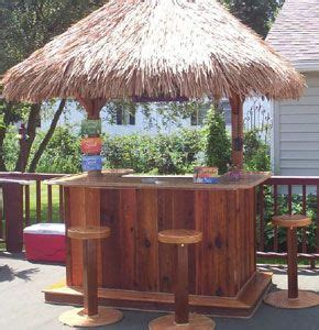 Build Your Own Tiki Bar by Build Your Own Tiki Bar This Is On My Plan I Will
