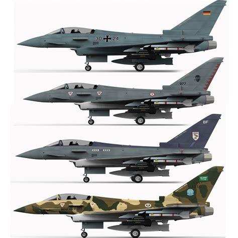 3d Eurofighter Typhoon Fighter 2000