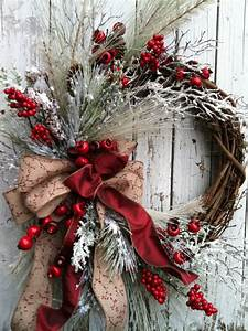 21, Artificial, Christmas, Wreath, Ideas, For, Stunning, Front, Door, Decorating