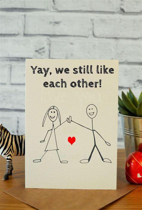 funny anniversary cards ideas  pinterest