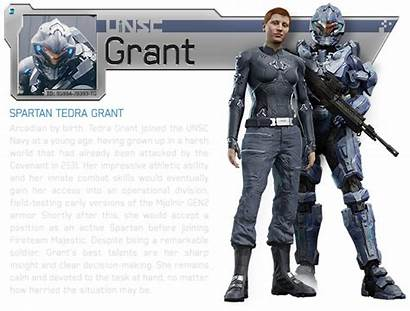 Halo Majestic Grant Spartan Ops Fireteam Bio