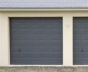 Porte De Garage Gris Anthracite : portes de garage sectionnelles plafond b 39 plast menuiseries pvc alu ~ Melissatoandfro.com Idées de Décoration