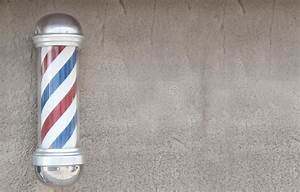 Barber's pole stock image. Image of background, shave ...
