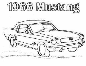 1969 mustang pages coloring pages With 1966 ford shelby co