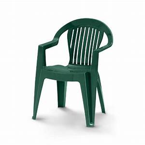 Fauteuil Plastique Jardin : chaise de jardin resine verte ~ Teatrodelosmanantiales.com Idées de Décoration