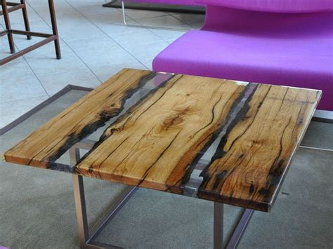 square solid wood coffee table  living room wood