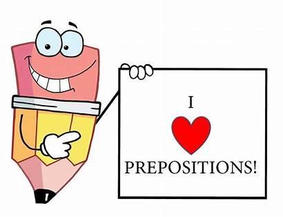 Prepositions Prepositional Phrases Preposition English Sentences Cliparts