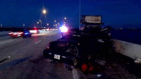 fhp searching driver truck involved weekend crash
