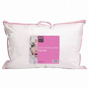 surrey down home white goose feather and down pillow With best non down pillows