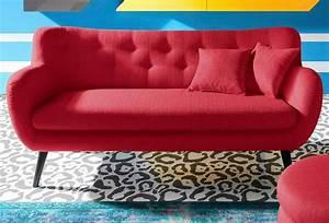 Sofa 2 3 Sitzer : inosign 3 sitzer im retro style online kaufen otto ~ Bigdaddyawards.com Haus und Dekorationen