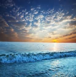 Beautiful Sea Photograph by Boon Mee
